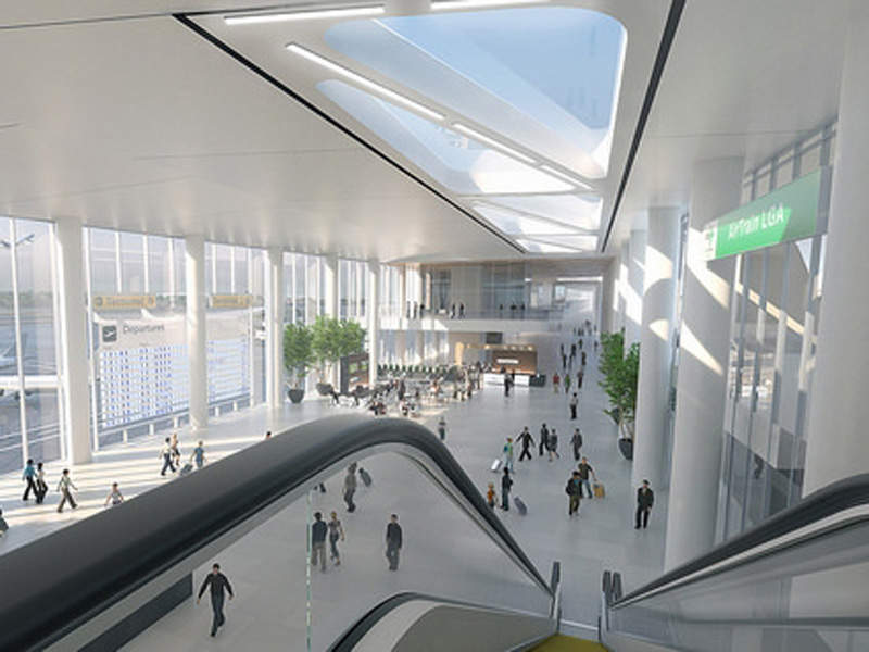 The new terminal will replace the existing Terminal B. Image: courtesy of State of New York.