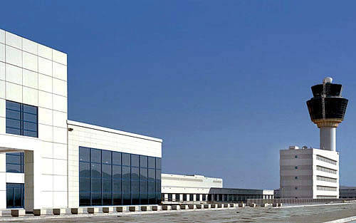 Athens International Airport Exterior