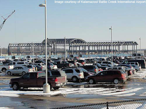 The new terminal will provide expanded rental car facilities.
