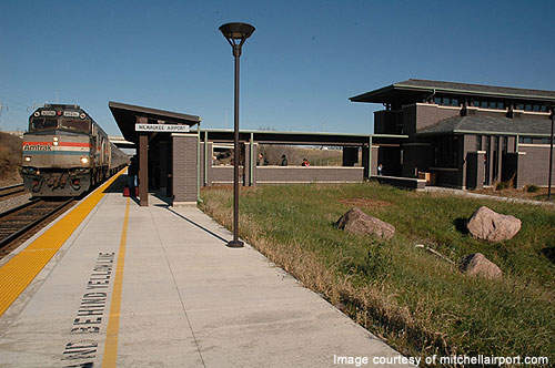 Amtrak railway station opened in 2005.