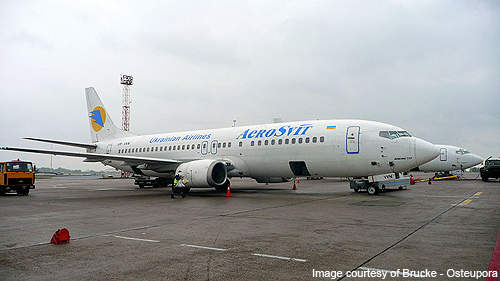 Aerosvit is the largest carrier operating at the Boryspil International Airport.
