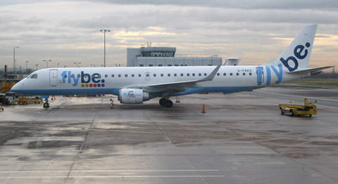 The largest City Airport operator is Flybe – one of their Embraer 195s at Belfast.