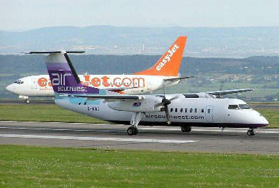Easy Jet have made an impression by contributing to Bristol International's passenger numbers.