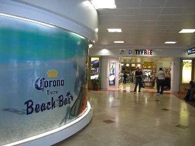 Cancun Airport's retail areas have been expanded through the opening of the new terminal.