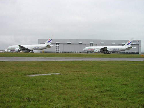 Cardiff International Airport's maintenance facilities are some of the largest in Europe.