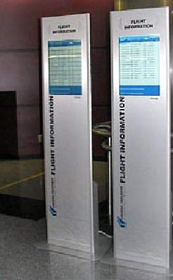 The information system was a great boost for passengers using Fresno Yosemite airport.
