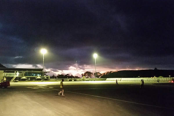 The expansion of the main parking lot is also part of the airport's infrastructure development. Image: courtesy of Airport Mayotte Dzaoudzi – Pamandzi.