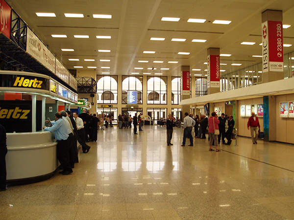 The terminal in Malta International Airport has a capacity to serve five million passengers per year.