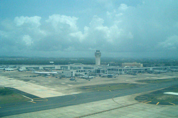 Luis Muñoz Marín airport has two runways, 8/26 and 10/28.