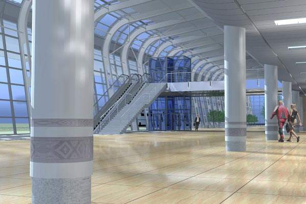 The new terminal construction was expected to take two years to complete and is scheduled to start service in 2012.