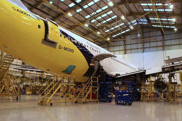 Although a compact site, LLA has extensive support facilities, including Monarch Aircraft Engineering (pictured).