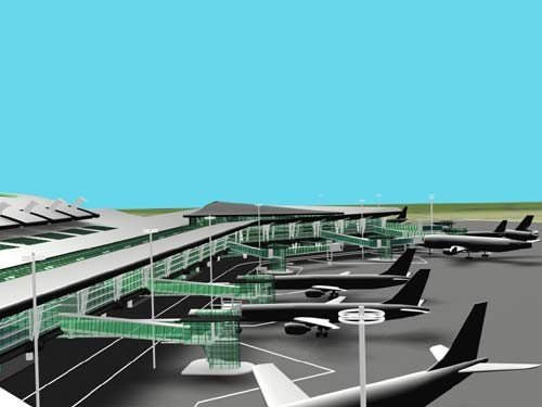 The addition of new terminal gates at Francisco SA Carneiro Airport helped boost its capacity.