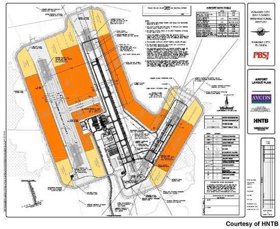 The airport development plan has been in preparation since the 1980s.