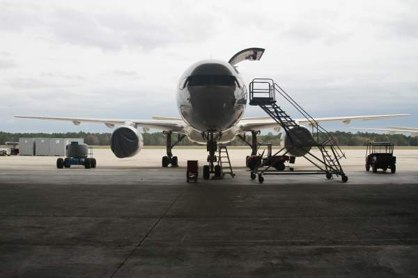 The airport is undergoing an expansion. Image courtesy of Jacksonville International Airport.
