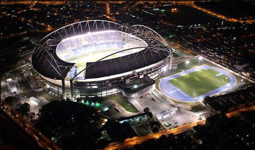 The Rio Olympic Stadium: the Santos Dumont Airport had to be finished in time to host the 2007 Pan American Games.