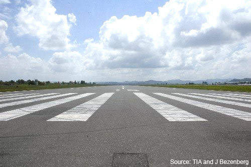 The runway and apron / taxiways at Tirana International will all be upgraded.