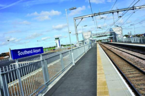 The new airport railway station provides services from the airport to Liverpool Street Station and the Olympic Park in Stratford. The Olympic Javelin high-speed service from Southend Airport reduces journey times to London.