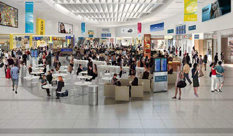 Over 30,000m² of the Sydney Airport departures area will be redeveloped.