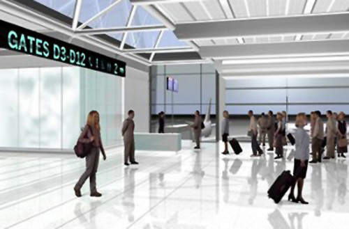 The airport will have much improved areas for departing passengers. T2 will have 9,000m² of retail and catering outlets. The revenue from these outlets and other commercial income such as car parking fees will help minimise passenger charges at Dublin Airport.