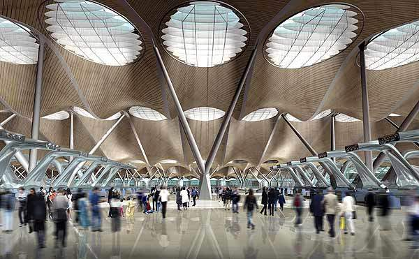 The new terminal building has an annual capacity of 35m passengers.