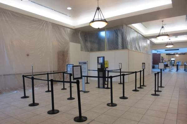 Ticketing area expansion with new counters is a part of the expansion. Image courtesy of Plattsburgh International Airport.