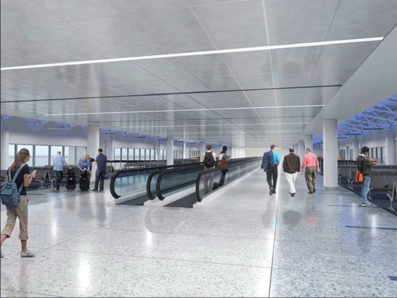 Terminal renovation work at CLT was commenced in September 2017. Image courtesy of Charlotte Douglas International Airport (CLT).
