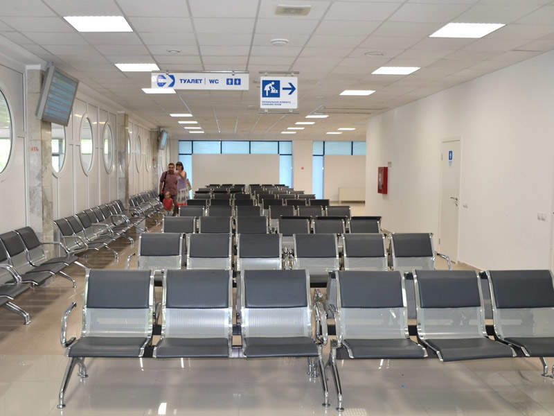 The terminal features various passenger lounges. Image: courtesy of Rostov-on-Don Airport.