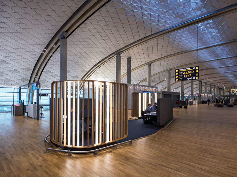 The expansion project has doubled the size of the terminal. Image courtesy of NORDIC Office of Architecture/Ivan Brodery.