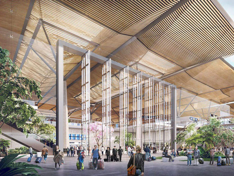 The first phase of the airport development is scheduled to be completed by 2027.