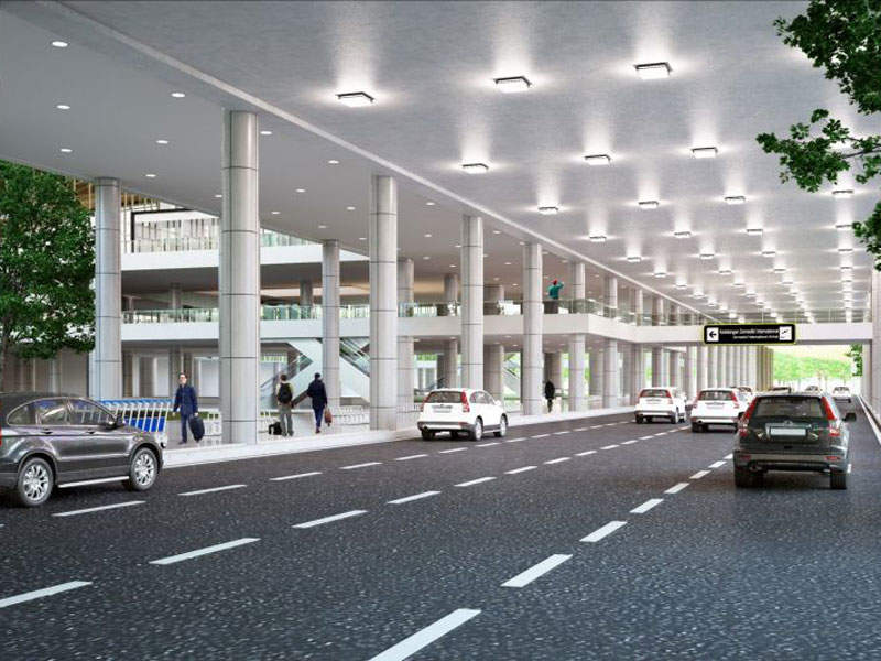PT Railink was contracted to build a multi-modal terminal at the airport. Credit: West Java Tourism Promotion Board.