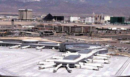 McCarran International Airport is the tenth busiest in the world and sees constantly increasing passenger numbers.