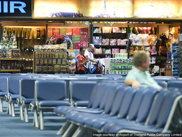 Duty-free outlets are found in both departure and arrival areas of Phuket Airport.