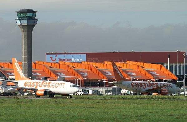 Luton-based EasyJet is the main low-cost operator at the airport.