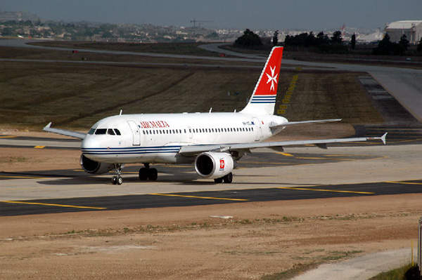 The taxiways in the Malta International Airport were upgraded with latest ICAO standards.