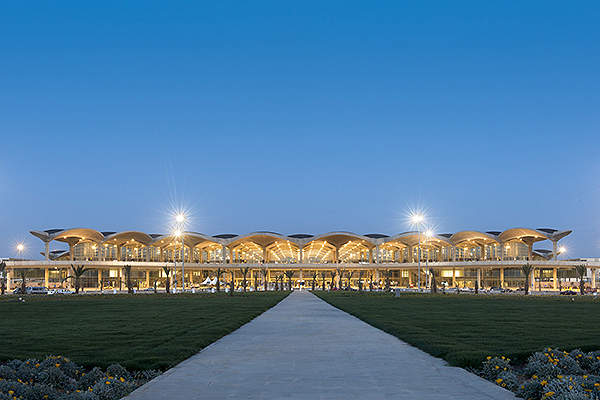 The new terminal is operated by Aeroports de Paris Management. Image courtesy of Foster + Partners.