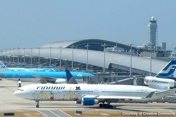 Over 15 million passengers used the airport in 2008; aircraft movements in the same year were 129,263.
