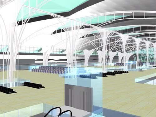 Oporto Airport's new terminal provides the facilities required to cater for over six million passengers a year.