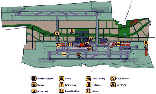 In phase two, Rajiv Gandhi's terminal 1 will be expanded to an area of 250,000m² to cater to growing passenger numbers.