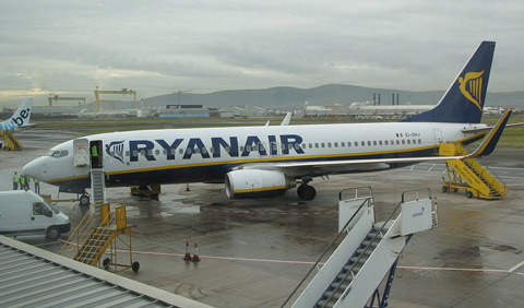 Ryanair's 737-800s are amongst the types subject to take-off restrictions caused by runway length at Belfast City Airport.