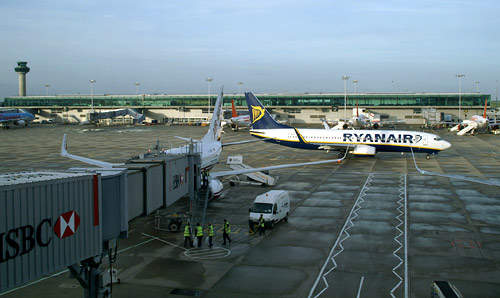Low-cost carriers account for over 80% of passengers using London Stansted Airport.