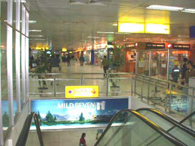 The new terminal has allowed the introduction of many more shops and services at Tan Son Nhat airport.