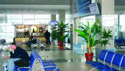 The refurbishment has lent a bright new airy feel to the terminal and provided comfortable seating in the gate areas.