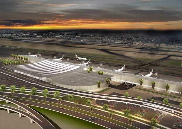 Forecasts project the airport to be handling 70 million passengers per year by 2016 and 100 million per year by 2025, which would make it the world's largest airport.