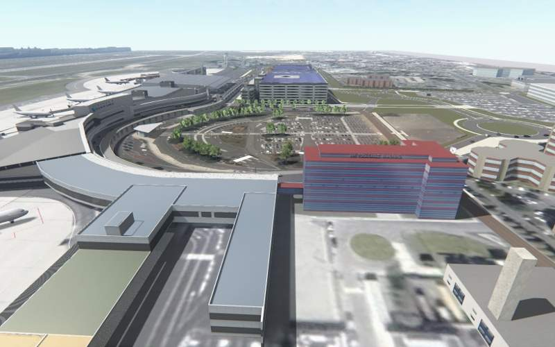 A four-star hotel will also be constructed as part of the terminal redevelopment. Image courtesy of Aéroport Toulouse-Blagnac.