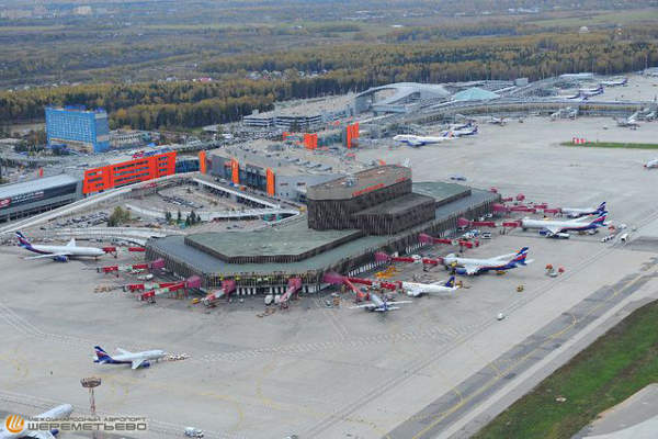 The total area of Sheremetyevo International Airport is more than 400,000 square metres. Image courtesy of Sheremetyevo International Airport.