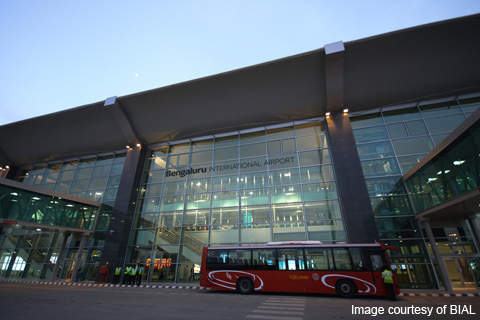 More than 4,500 staff are employed to run the new Bangalore Airport.