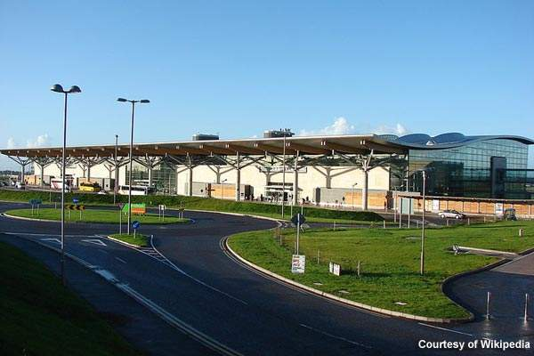 The new terminal at Cork International Airport.