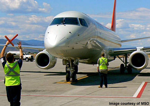 There were eight improvement projects underway at Missoula Airport in 2006.