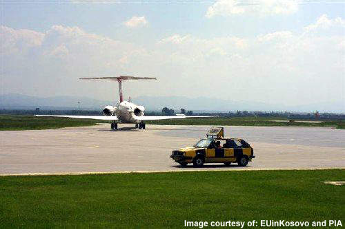 Priština International Airport services are improving all the time.