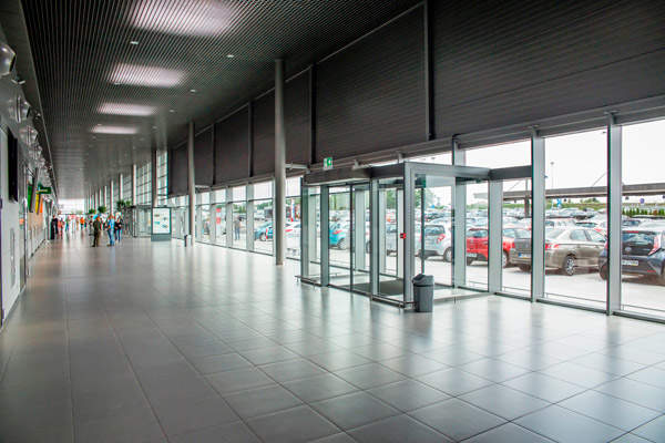 The new terminal has a surface area of 7,000m².  Image courtesy of Skanska.